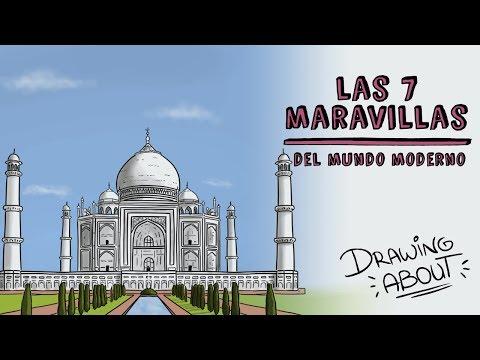LAS 7 MARAVILLAS DEL MUNDO MODERNO | Draw My Life