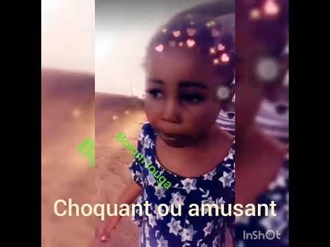 La petite fille qui fait le buzz à Louga