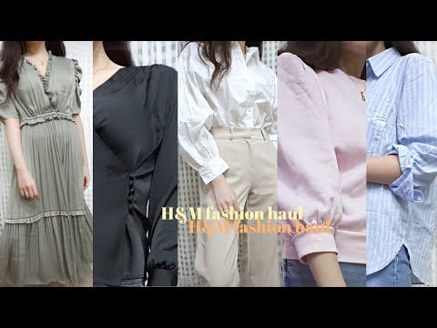 예쁘고 난리니까 꼭 보세요! H&M 신상 봄옷 언박싱 하울 | 블라우스, 셔츠 추천❣ 새틴원피스 랩블라우스 퍼프맨투맨 스트라이프 셔츠 봄데일리룩 | H&M spring haul