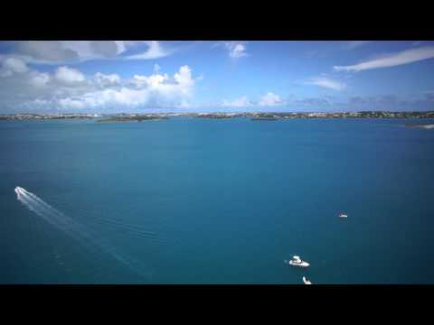 Bella Mente Loading Yacht Transport Ship: Video By Bermuda Aerial