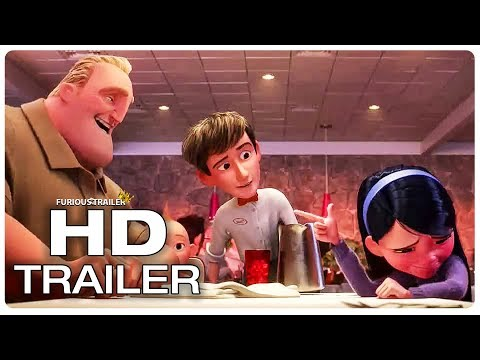 INCREDIBLES 2 Violet Introduces Her Boyfriend To Family Trailer (NEW 2018) Superhero Movie HD