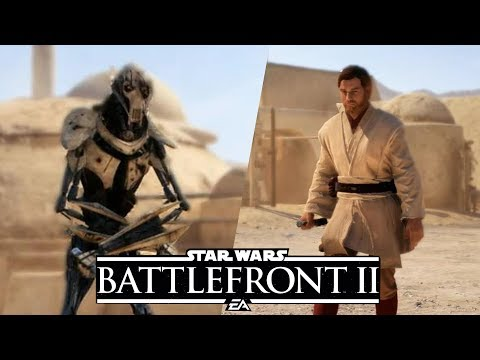 Hero Showdown Obi Wan vs General Grievous - Battlefront 2