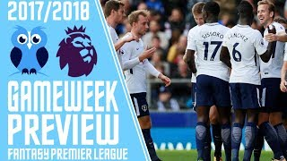 Gameweek 9 preview! fantasy premier league 2017/18 tips! with kurtyoy! #fpl