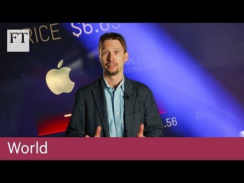 Apple falls: world feels the gravity