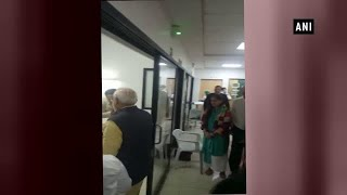 Pune: PM Narendra Modi visits ex-union minister Arun Shourie in hospital