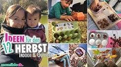Herbst 🍂🍁| Spielideen für Kleinkinder | Hacks & DIY | mamiblock