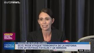 Nueva Zelanda: ataque a dos mezquitas deja al menos 49 muertos