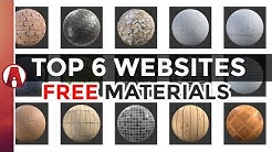 Top 6 Websites for FREE Textures and Materials (PBR)