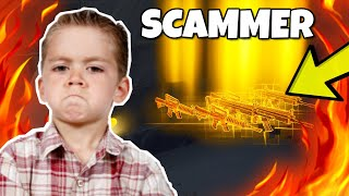 Scammer teste mon !!! BLACK SCAR alors cela arrive... TEST SCAMMER - Fortnite Save the World