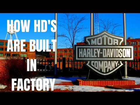 How it's made: HARLEY DAVIDSON