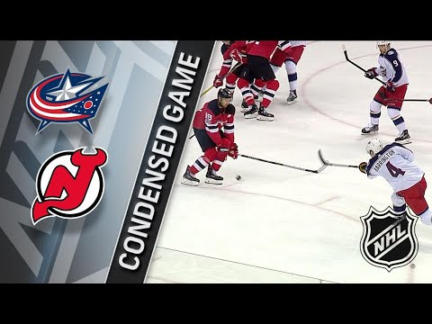 12/08/17 Condensed Game: Blue Jackets @ Devils