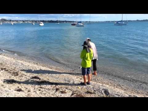 Fishing @ Bucklands beach