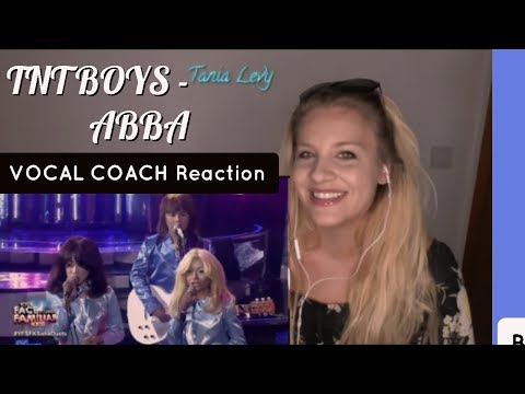 VOCAL COACH |REACTION |TNT BOYS  |ABBA | Mamma Mia