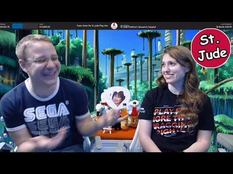 Sonic Official - St. Jude PLAY LIVE Stream!