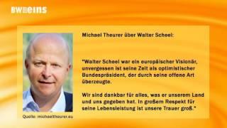 Zum Tod von Walter Scheel