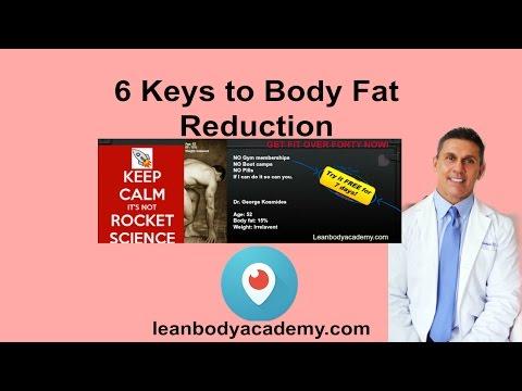 6 Keys to Body Fat Reduction