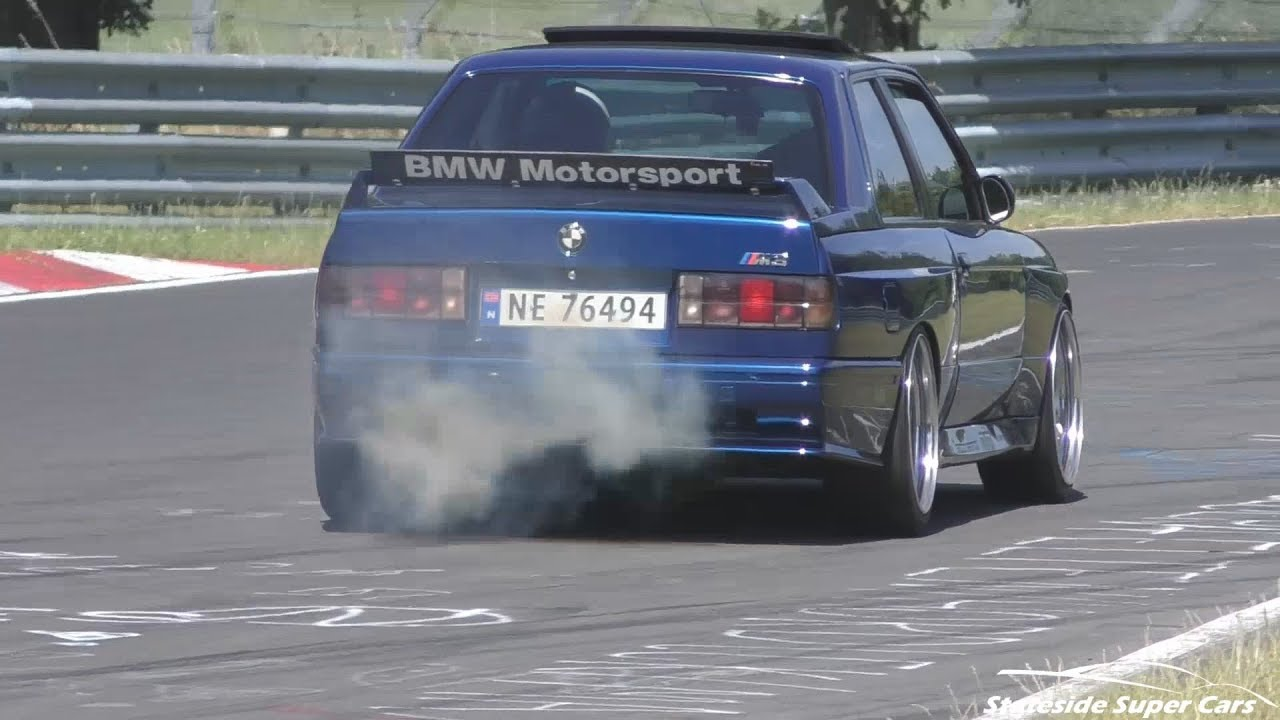 hight resolution of bmw m3 e30 rb26dett swap on the n rburgring youtube