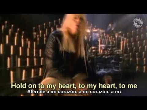 WASP - Hold On To My Heart - Subtitulado Español & Inglés