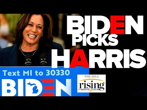 Krystal and Saagar REACT: Biden Picks Harris As VP, Reliving Her WORST Moments From Campaign Trail