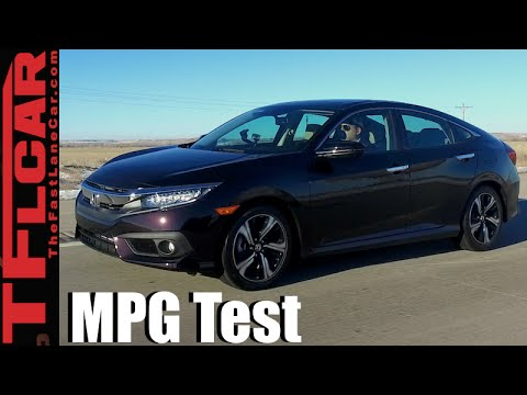 2016 Honda Civic Real World Mpg Review How Fuel Efficient Is The New Turbo