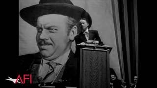 Movie Stars and Filmmakers Praise CITIZEN KANE