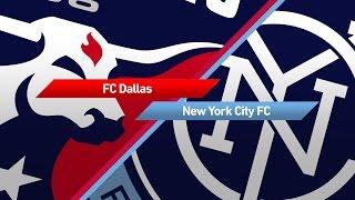 Highlights: FC Dallas vs. New York CIty FC   May 14, 2017