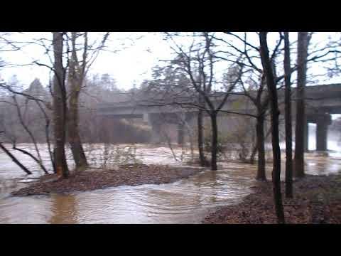 Habersham County Ga Chattahoochee River Flooding December 28 2018