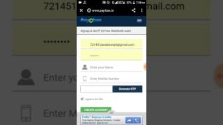 LOOT Free RS- 20 MOBIKWIK Cash For ALL USER  Must TRY IT..