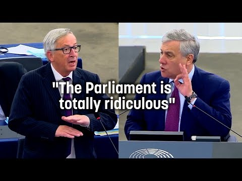 "Juncker: ""The European Parliament is ridiculous."""