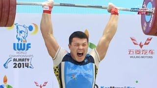 2014 World Weightlifting Championships, Men 94 kg \ Тяжелая Атлетика. Чемпионат Мира