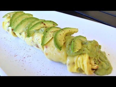THE BOMBLETTE! Baked Rolled Omelette Recipe f/ California Avocado Salsa Verde