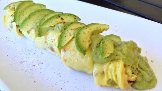 The Bomblette! - Baked Rolled Omelette Recipe F/ California Avocado Salsa Verde