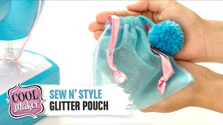 Cool Maker   Sew N' Style Machine   How To Make A Glitter Pouch