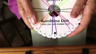 Kumihimo 16 draden uitleg