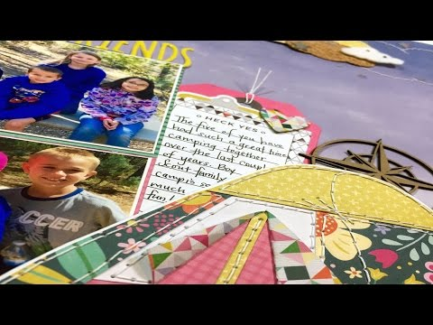 Process Video: Camping Friends (SMS March Blog Hop)