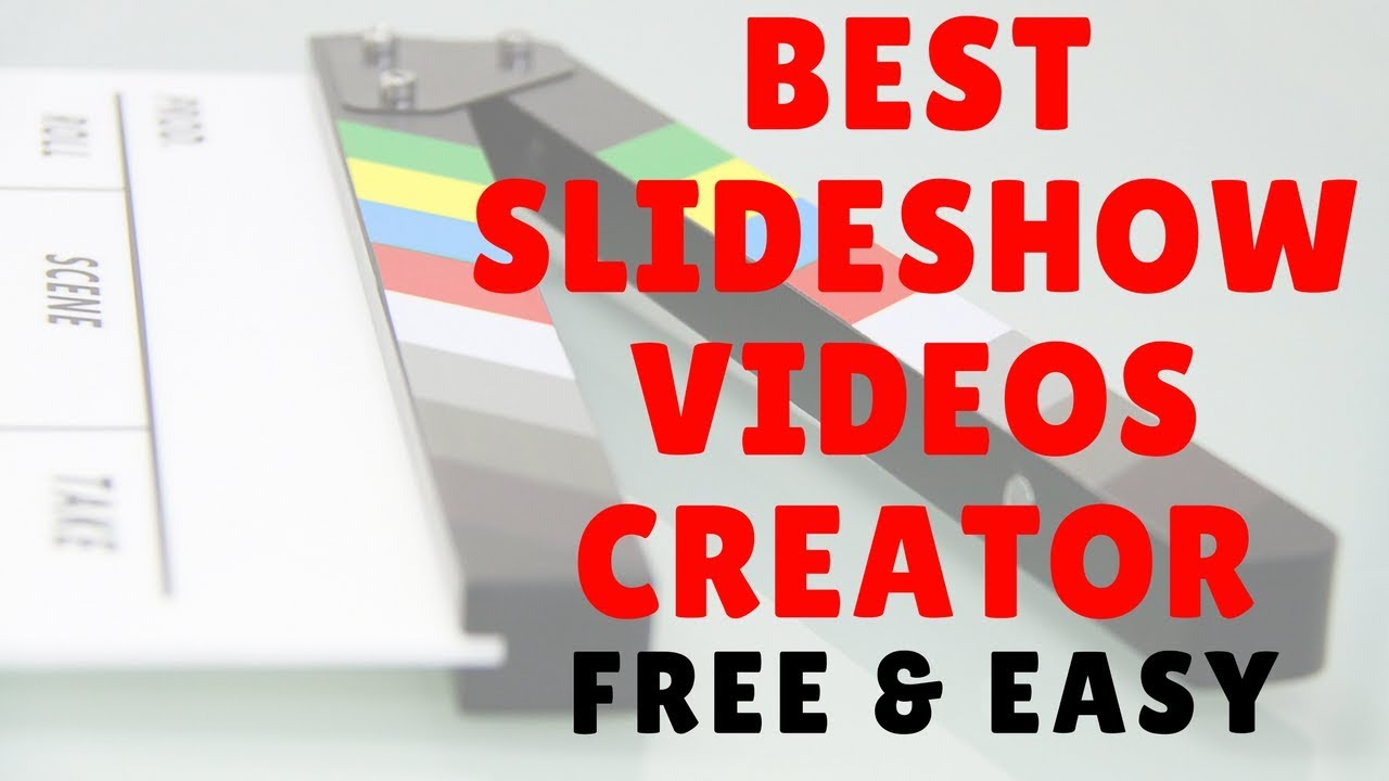 how to make a slideshow set to music