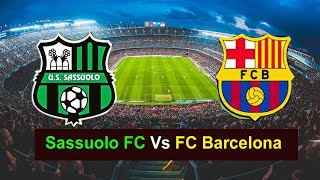 Welcome to my gaming channel please watch fc barcelona vs sassuolo   football gameplay pes 2020, fc,football p...