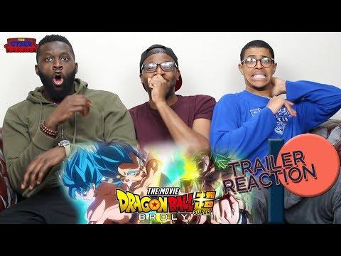 Dragon Ball Super Broly Trailer 3 Reaction