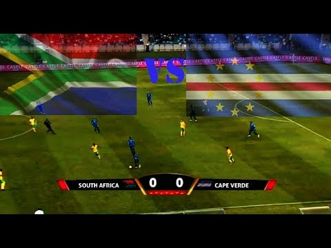 World CUp Qualification South Afirica Vs Cape Verde 0 0 Half Time full Qualification AFC