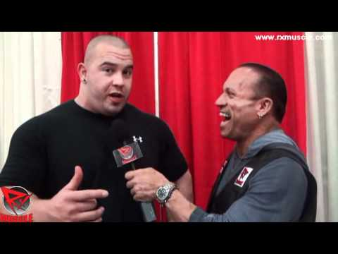 Mike Jenkins After Winning 2012 Arnold Pro Strongman Championships