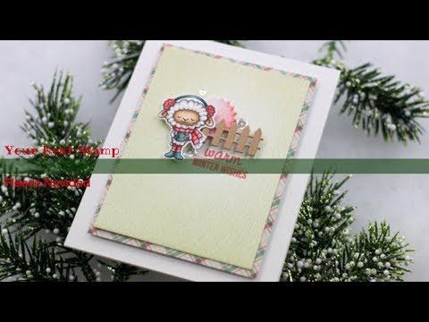 Your Next Stamp Fleece Navidad