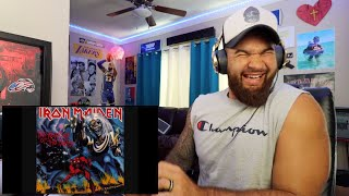 FIRST TIME HEARING Iron Maiden - Hallowed Be Thy Name (REACTION!!)