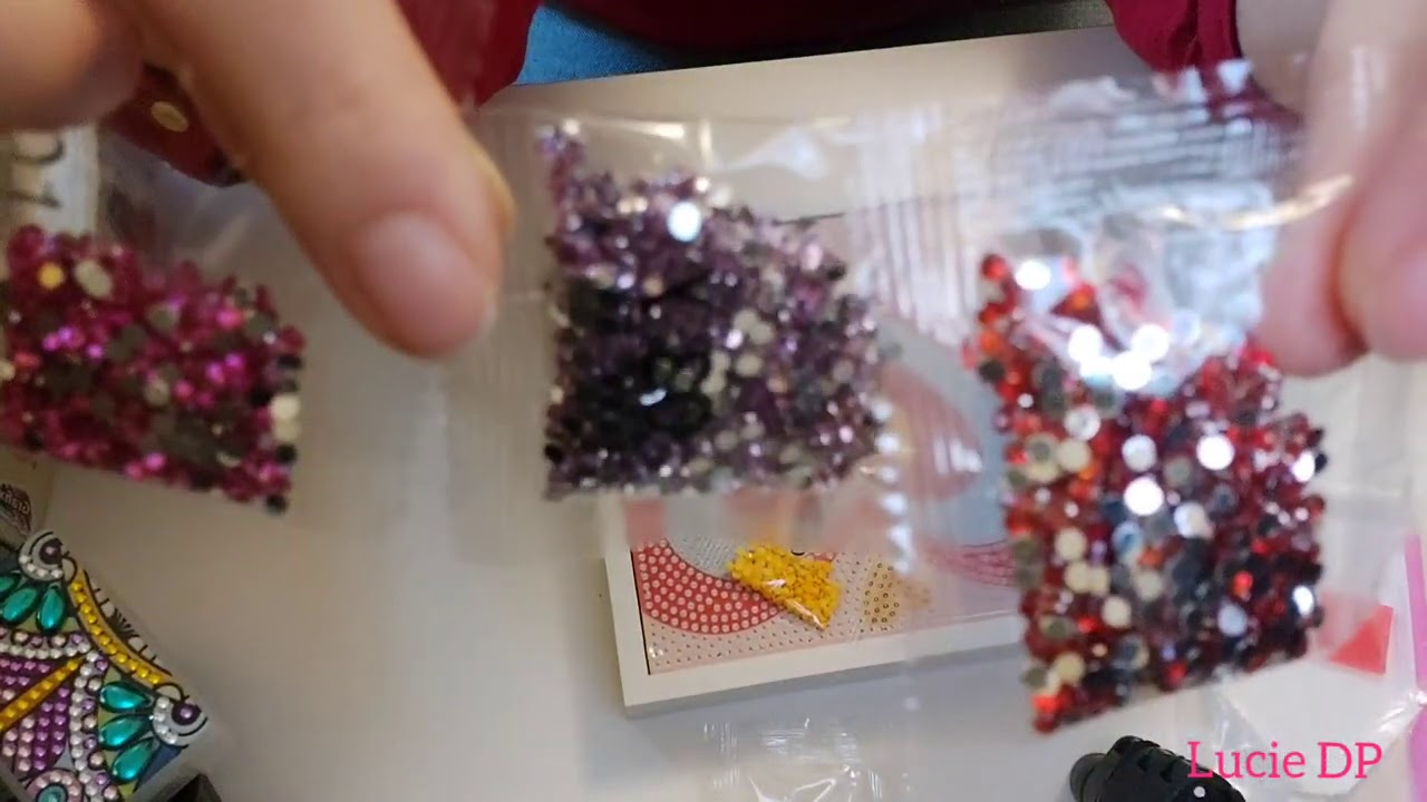 Diamond Painting Petites Trouvailles A Action Youtube