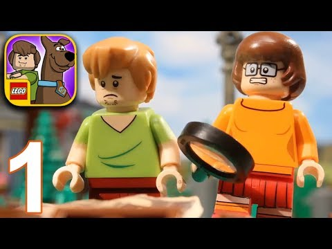 LEGO SCOOBY DOO Escape From Haunted Isle Walkthrough Gameplay Part 1 - Level 1 2 (iPhone X)