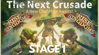 LOST KINGDOM STAGE 1 - EVE OF THE CRUSADE - Rise of Kingdoms