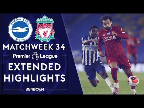 Brighton v. Liverpool | PREMIER LEAGUE HIGHLIGHTS | 7/8/2020 | NBC Sports