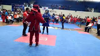 Philippine National Games 2018 Arnis 1st round KO by Tacurong