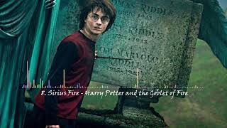 8. Sirius Fire - Harry Potter and the Goblet of Fire (soundtrack)