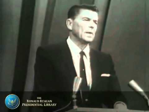 Ronald Reagan: A Time For Choosing (1964: Warns Of NWO)