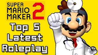 Super Mario Maker 2 Top 5 Latest ROLEPLAY Courses (Switch)
